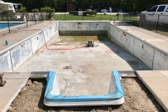 New Commercial Pool Steps