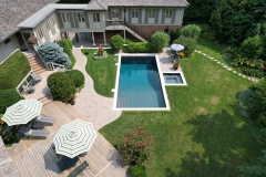Concrete Pool and Spa Combo