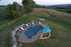 Country Pool Retreat