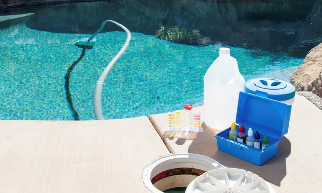 pool testing supplies