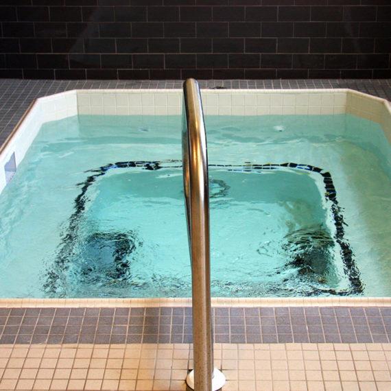indoor tiled whirlpool